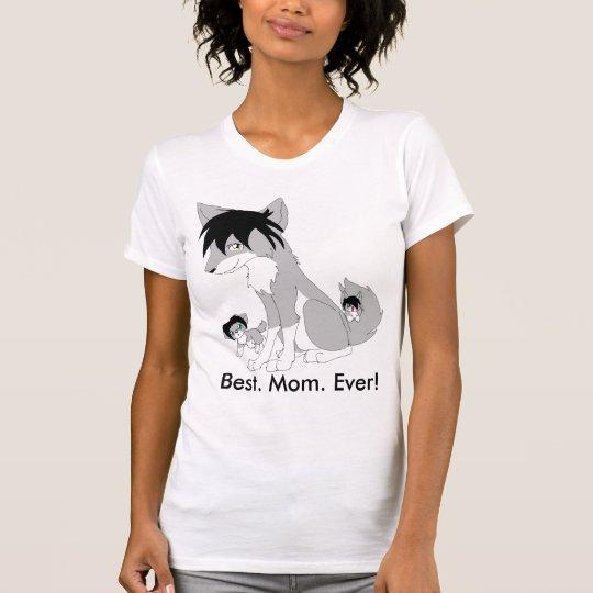 Best Mom Ever Wolf T-Shirt, Alternate Cut T-Shirt
