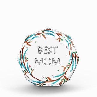 Best Mom Gift Acrylic Award