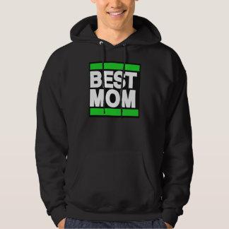 Best Mom Green Hoodie