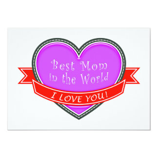 Best Mom in the World Card