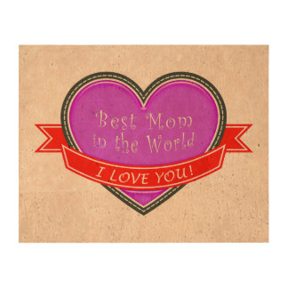 Best Mom in the World Queork Photo Prints