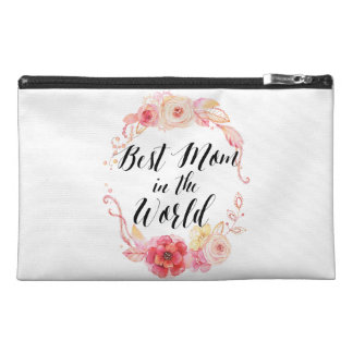 Best Mom In The World Travel Accessory Bags