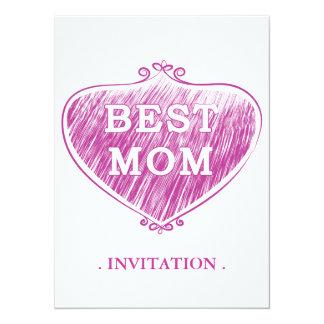 Best Mom Custom Announcements