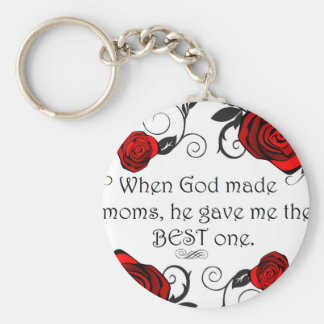 Best Mom Keychain