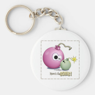 Best Mom Keychain