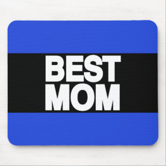 Best Mom Lg Blue Mouse Pad