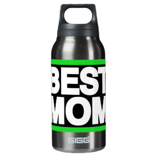 Best Mom Lg Green Insulated Water Bottle