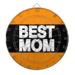 Best Mom Lg Orange Dartboard