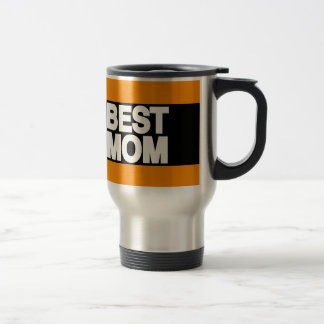 Best Mom Lg Orange 15 Oz Stainless Steel Travel Mug