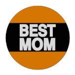 Best Mom Lg Orange Poker Chips