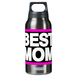 Best Mom Lg Pink Insulated Water Bottle