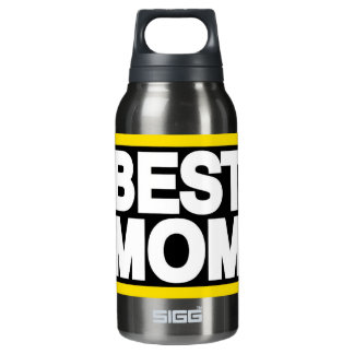 Best Mom Lg Yellow Insulated Water Bottle
