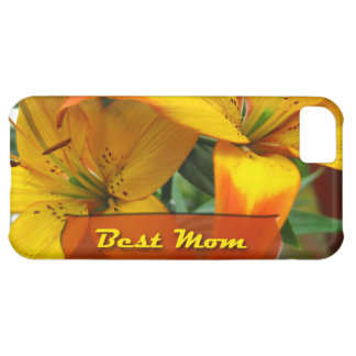 Best Mom Lilies iPhone 5C Cases
