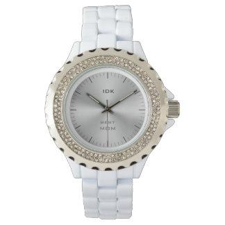 BEST MOM   monogram Wrist Watch