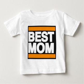 Best Mom Orange Baby T-Shirt
