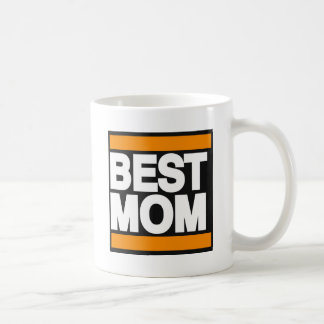 Best Mom Orange Coffee Mug