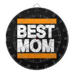 Best Mom Orange Dart Board