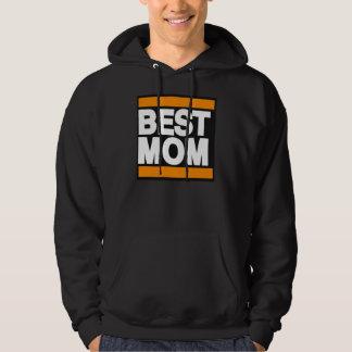 Best Mom Orange Hoodie