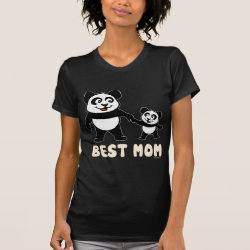 Women's American Apparel Fine Jersey Short Sleeve T-Shirt with Best Mom design