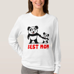 Women's Basic Long Sleeve T-Shirt with Best Mom design