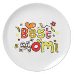 Best Mom Party Plate