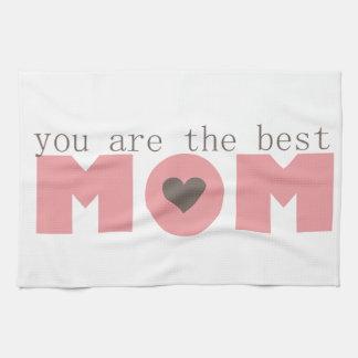 Best Mom (Pink) Hand Towel