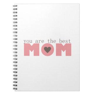 Best Mom (Pink) Notebook