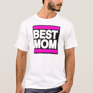 Best Mom Pink T-Shirt