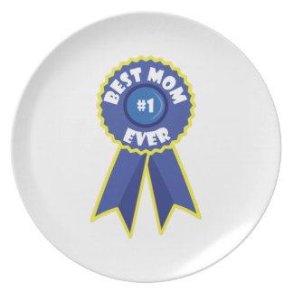 Best Mom Party Plates