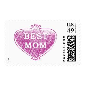 Best Mom Postage
