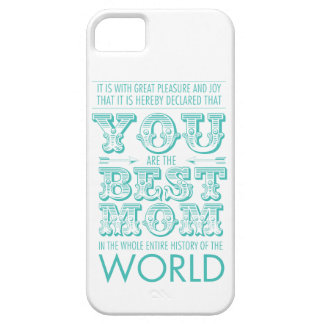Best mom prize iPhone SE/5/5s case