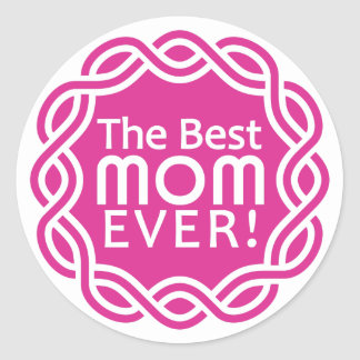 BEST MOM stickers