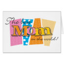 The Best Mom in the World Card