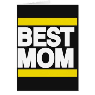 Best Mom Yellow Card