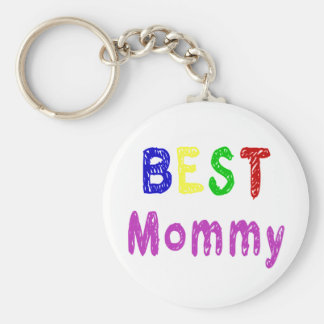 Best Mommy Mother's Day Gifts and Mommy Apparel Keychain