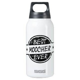 Best Moocher Ever Black 10 Oz Insulated SIGG Thermos Water Bottle