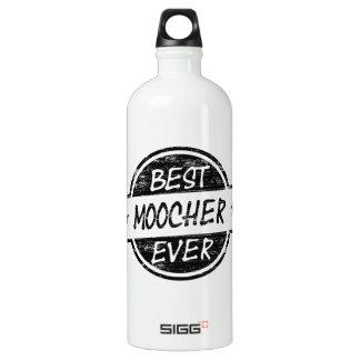 Best Moocher Ever Black Aluminum Water Bottle