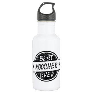 Best Moocher Ever Black Stainless Steel Water Bottle
