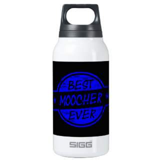 Best Moocher Ever Blue 10 Oz Insulated SIGG Thermos Water Bottle