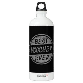 Best Moocher Ever Gray Aluminum Water Bottle