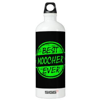 Best Moocher Ever Green Aluminum Water Bottle