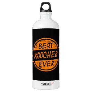 Best Moocher Ever Orange Aluminum Water Bottle