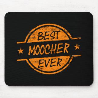 Best Moocher Ever Orange Mouse Pad