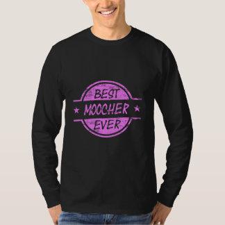 Best Moocher Ever Pink T Shirt