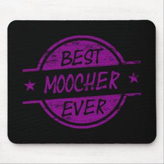 Best Moocher Ever Purple Mouse Pad