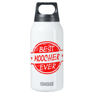 Best Moocher Ever Red Insulated Water Bottle