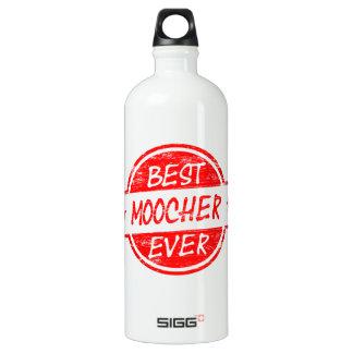 Best Moocher Ever Red Water Bottle