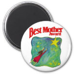 Best Mother Award Gifts 2 Inch Round Magnet