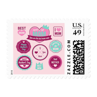 Best Mother Ever Pattern Postage