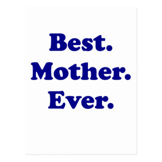 Best Mother Ever Postcard